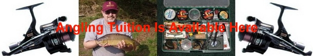 Angling Tuition Available Here